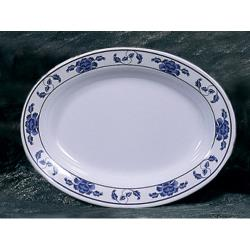 "Thunder Group - 2110TB - 10"" x 7 1/2"" Lotus Oval Platter image"