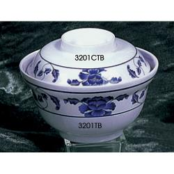 "Thunder Group - 3201CTB - 5 1/4"" Lid for Lotus Noodle Bowl image"