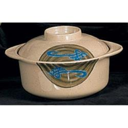 Thunder Group - 3504J - 13 oz. Wei Miso Bowl w/ Lid image