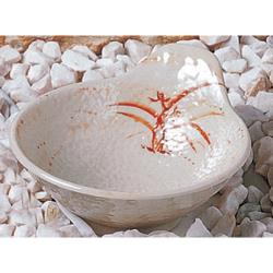 Thunder Group - 3601 - 9 oz. Gold Orchid Tempura Dipping Bowl image