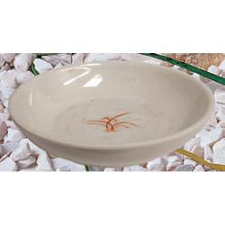 "Thunder Group - 3955GD - 5"" Gold Orchid Flat Bowl image"
