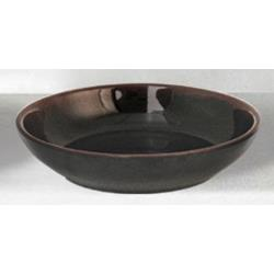 "Thunder Group - 3955TM - 5 1/2"" Tenmoku Flat Bowl image"