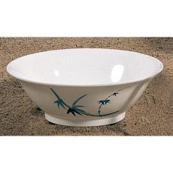 Thunder Group - 5008BB - 30 oz. Blue Bamboo Soba Bowl image