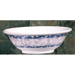 Thunder Group - 5065DL - 32 oz. Blue Dragon Rimless Bowl image