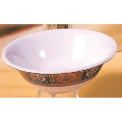 Thunder Group - 5108TP - 26 oz. Peacock Deep Bowl image