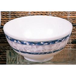 Thunder Group - 5275DL - 38 oz. Blue Dragon Scalloped Bowl image