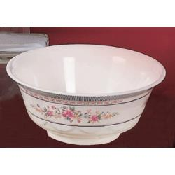 Thunder Group - 5285AR - 53 oz. Rose Scalloped Bowl image