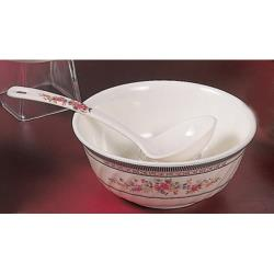 Thunder Group - 5306AR - 20 oz. Rose Swirl Bowl image