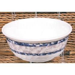 Thunder Group - 5307DL - 27 oz. Blue Dragon Swirl Bowl image