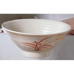 Thunder Group - 5780 - 26 oz. Gold Orchid Soba Bowl image