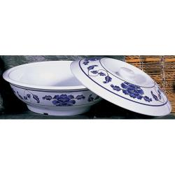 Thunder Group - 8011TB - 73 oz. Lotus Serving Bowl w/Lid image