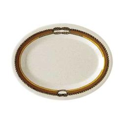 GET Enterprises - OP-120-RD - Rodeo 12 in x 9 in Oval Platter image