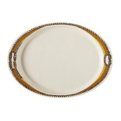GET Enterprises - OP-145-RD - Rodeo 14 3/4 in Oval Platter image