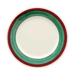 GET Enterprises - WP-10-PO - Portofino 10 1/2 in Wide Rim Plate image