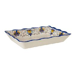 GET Enterprises - ML-88-SL - Santa Lucia 13 3/4 in x 9 1/2 in Platter image