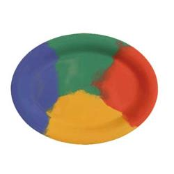 GET Enterprises - OP-120-CE - Celebration 12 in x 9 in Oval Platter image