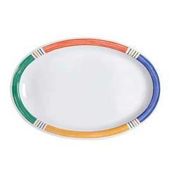 GET Enterprises - OP-612-BA - Barcelona Kid 11 3/4 in Oval Platter image