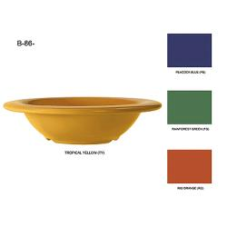 GET Enterprises - B-86-TY - Mardi Gras Tropical Yellow 8 oz Bowl image