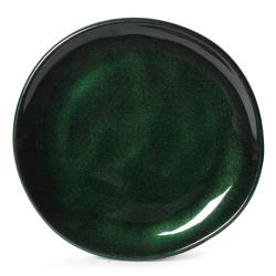 GET Enterprises - CS-7-CSG - 7 in Cosmo™ Green Irregular Melamine Coupe Plate image