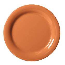 GET Enterprises - NP-6-PK - Harvest Pumpkin 6 1/2 in Narrow Rim Plate image