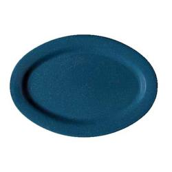 GET Enterprises - OP-115-TB - Texas Blue 11 1/2 in Oval Platter image