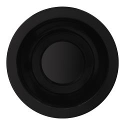 GET Enterprises - SU-4-BK - Black Elegance 4 1/2 in Saucer image