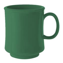 GET Enterprises - TM-1308-FG - Mardi Gras Forest Green 8 oz Stacking Mug image