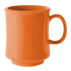 GET Enterprises - TM-1308-PK - Harvest Pumpkin 8 oz Stacking Mug image