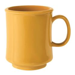 GET Enterprises - TM-1308-TY - Mardi Gras Tropical Yellow 8 oz Stacking Mug image