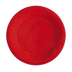 GET Enterprises - WP-9-RSP - Red Sensation 9 in Wide Rim Plate image