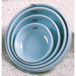 "Thunder Group - 1903 - 3 1/2"" Blue Jade Flat Bowl image"