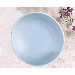 "Thunder Group - 1914 - 13 3/4"" Blue Jade Platter image"