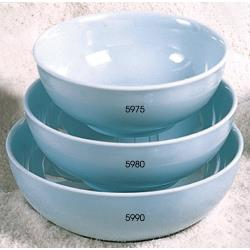 Thunder Group - 5990 - 70 oz. Blue Jade Soup Bowl image