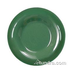 "Thunder Group - CR006GR - 6 1/2"" Green Wide Rim Round Plate image"