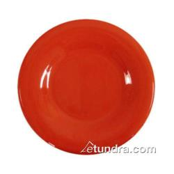 "Thunder Group - CR010PR - 10 1/2"" Pure Red Wide Rim Round Plate image"
