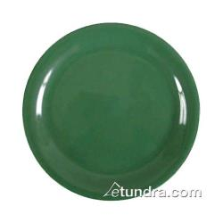"Thunder Group - CR109GR - 9"" Green Narrow Rim Round Plate image"