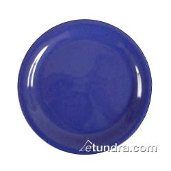 "Thunder Group - CR110BU - 10 1/2"" Blue Narrow Rim Round Plate image"