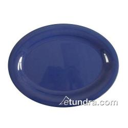"Thunder Group - CR209BU - 9 1/2"" x 7 1/4"" Blue Platter image"