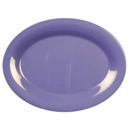 "Thunder Group - CR209BU - 9 1/2"" x 7 1/4"" Purple Platter image"