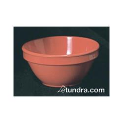 Thunder Group - CR313RD - 4 oz Red-Orange Bouillon Cup image