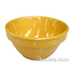 Thunder Group - CR313YW - 4 oz Yellow Bouillon Cup image