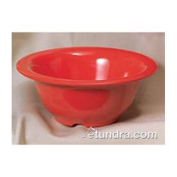 "Thunder Group - CR5510PR - 10 oz x 5 3/8"" Pure Red Soup Bowl image"
