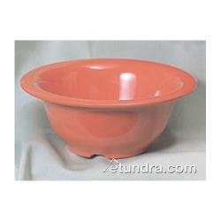 "Thunder Group - CR5510RD - 10 oz x  5 3/8"" Red-Orange Soup Bowl image"