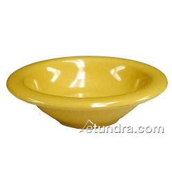 Thunder Group - CR5608YW - 8 oz Yellow Salad Bowl image