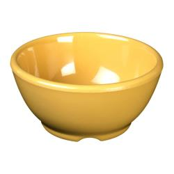 "Thunder Group - CR5804YW - 10 oz x 4 5/8""  Yellow Soup Bowl image"