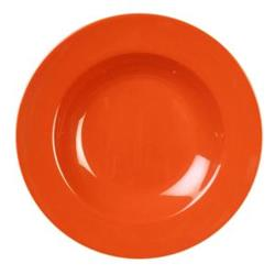 Thunder Group - CR5811RD - 16 oz Red-Orange Pasta Bowl image