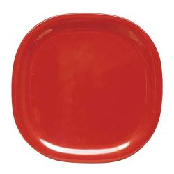 "Thunder Group - PS3008RD - 8 1/4"" Passion Red Round Square Plate image"