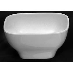 Thunder Group - PS3103W - 4 oz. Passion White Square Bowl image