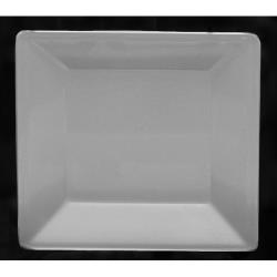 "Thunder Group - PS3211W - 10 1/4"" Passion White Square Plate image"