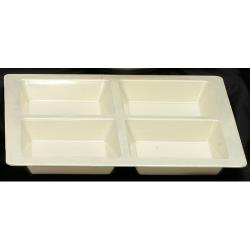 Thunder Group - PS5104V - Passion Pearl 4 Section Square Compartment Tray image